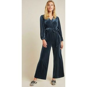 Ali & Jay Anthropologie Blue SAMANTHA Jumpsuit
